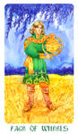 Page Of Wheel (Pentacles)