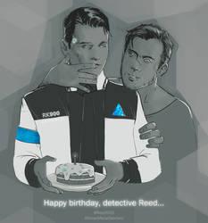 Happy birthday, Detective Reed by Losenko