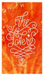 Lettring Tarot - VI The Lovers by Losenko