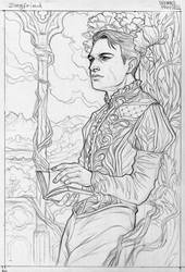 Card - Dreamy Prince Siegfried