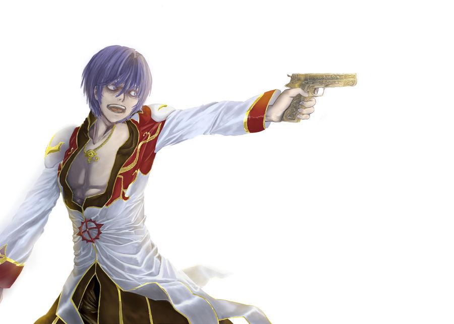 HP Gun by Luvira