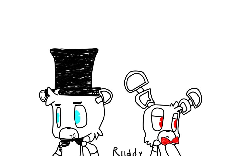 Dibujo de fnaf by ruddy12 on deviantart