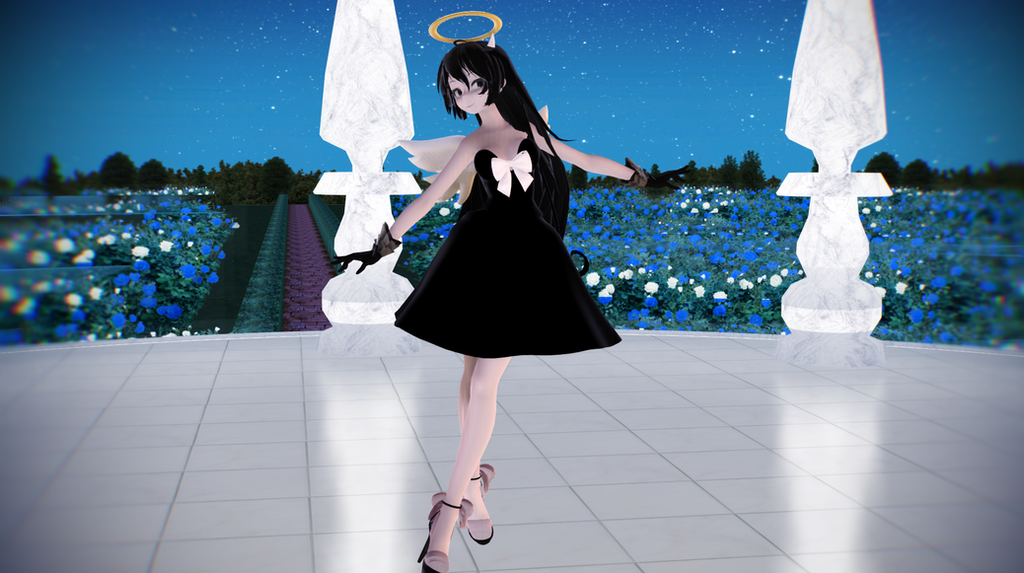 [MMD + Motion DL]Angel of the stage by ririchiro