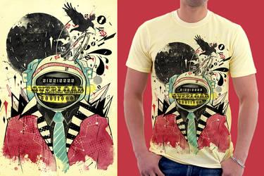 Brain Overload : Shirt by choppre