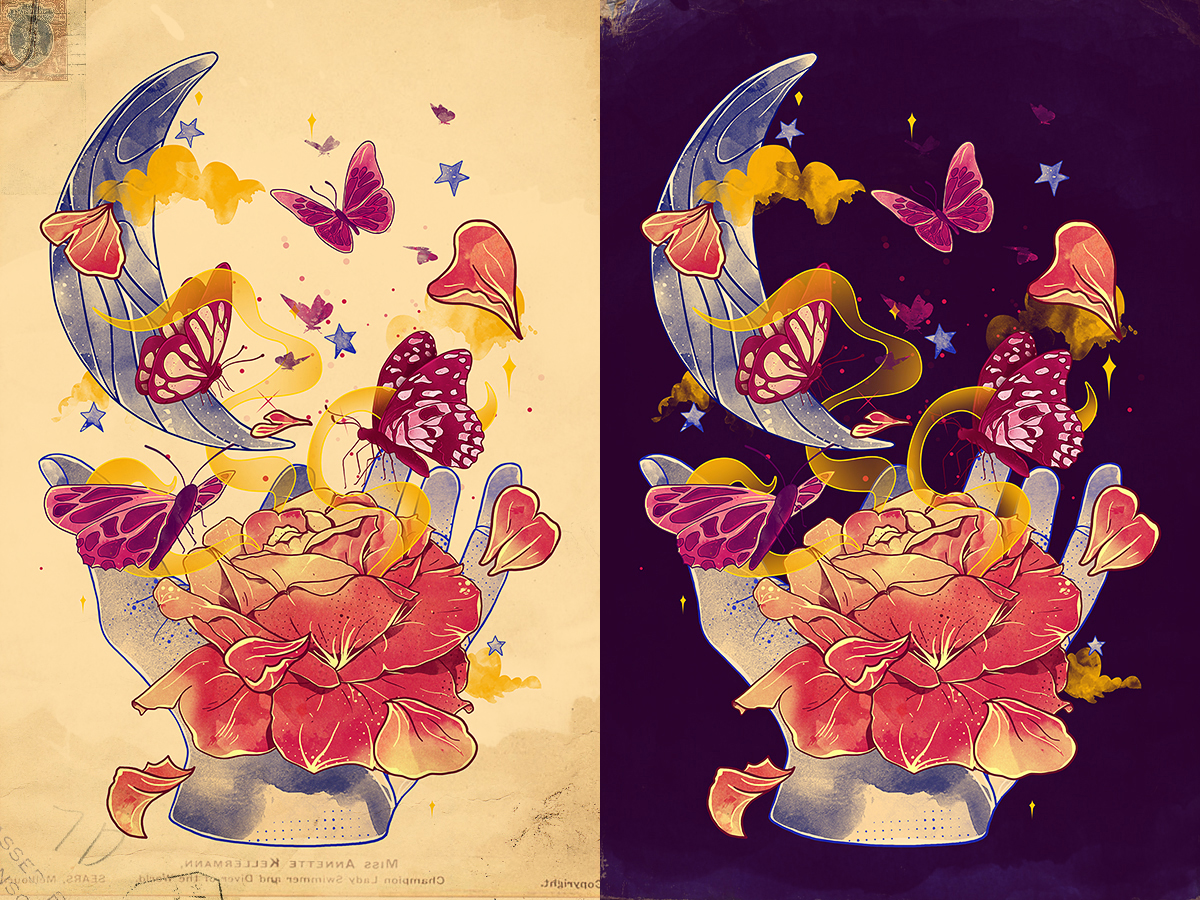 Papillon Ache by choppre