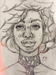 Faces - Afro Ting by choppre