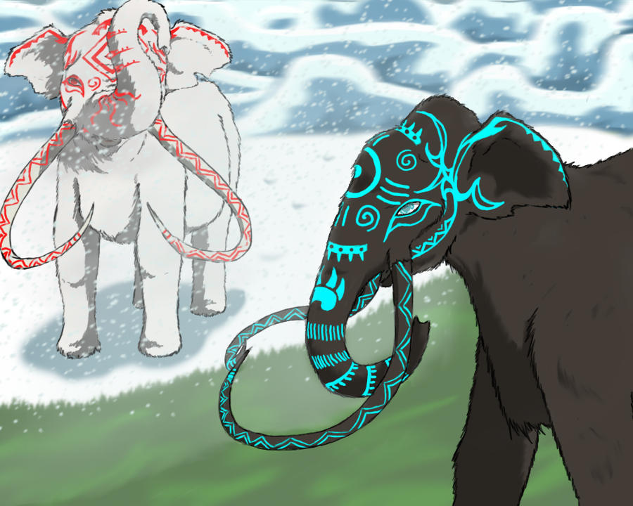 Off-White: Ice Sheet by Fantasy-Creature