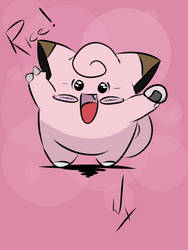 Clefairy !!!!!! by warox1994