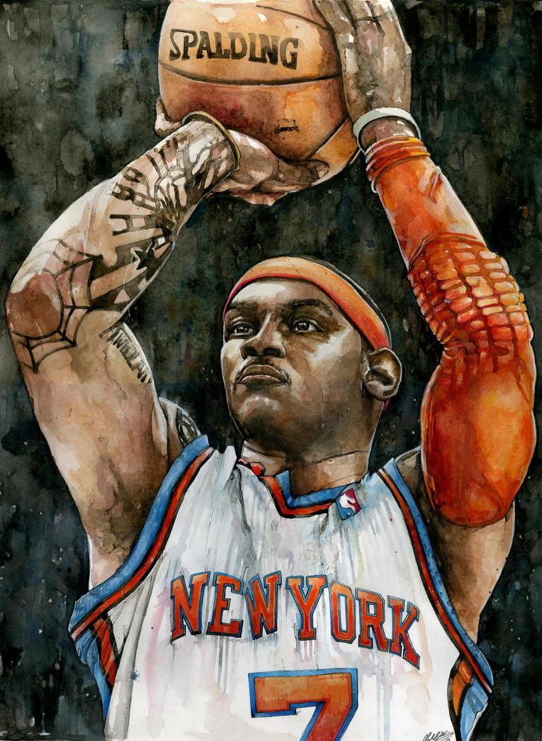 Carmelo Anthony by MichaelPattison