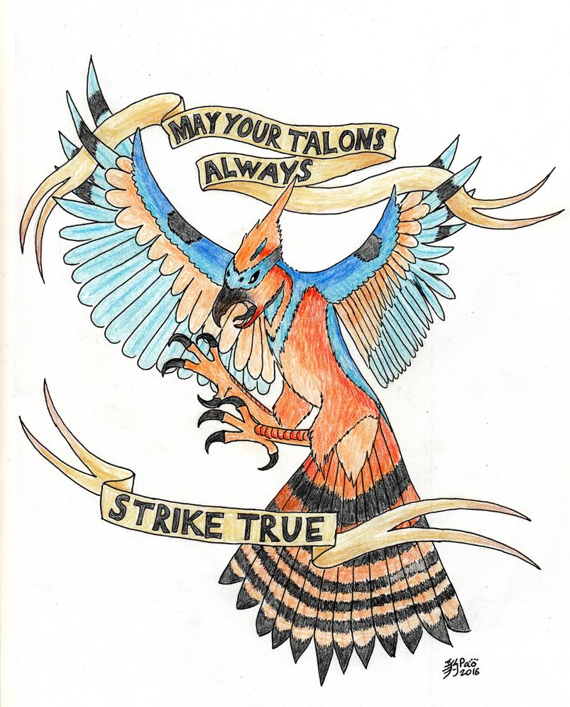 Strike True by Panterdjuret