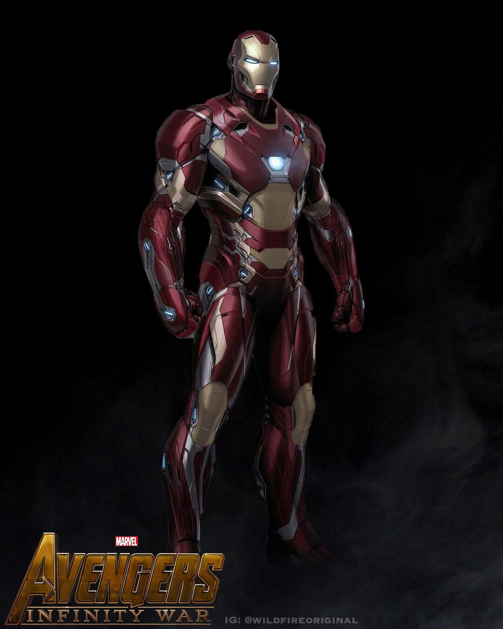 Iron Man Infinity War Concept By Wildfireoriginal On