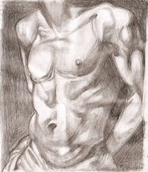 Nude painting by aggeloscy