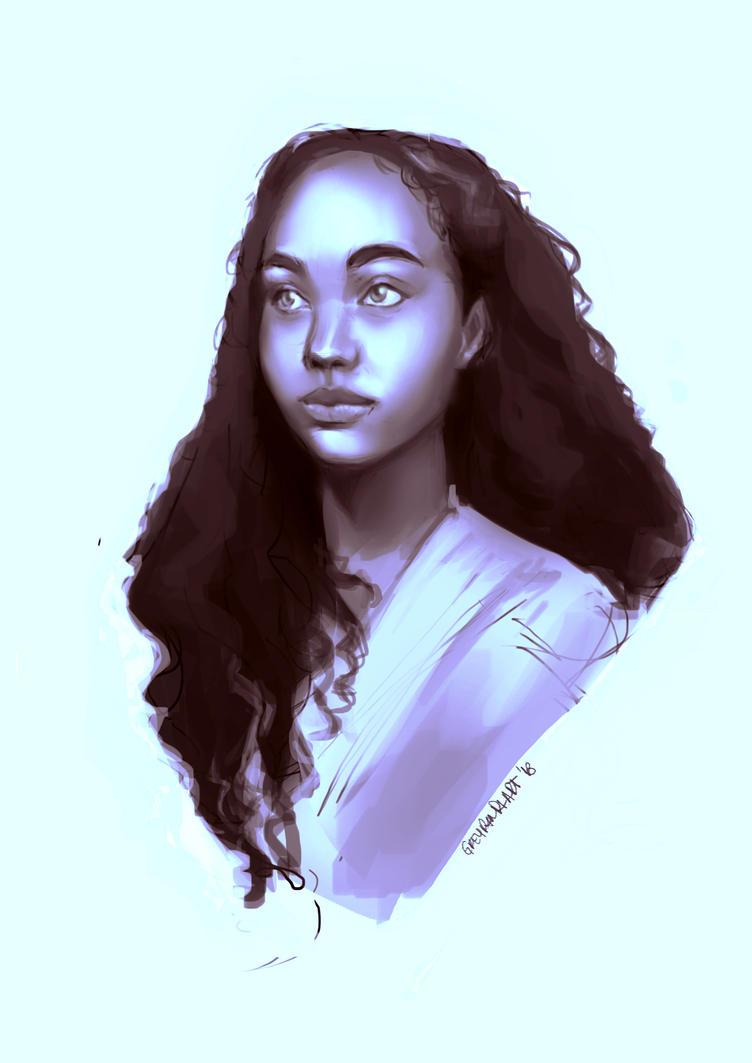 * portrait study by greypandaart
