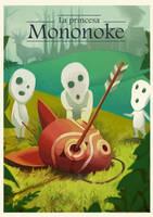 * Mononoke Princess  * by greypandaart
