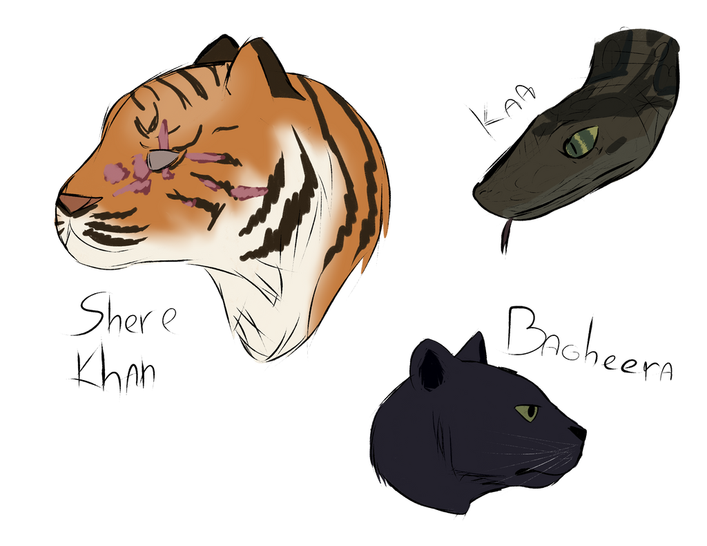 The Jungle Book Sketches By Captmeirin On Deviantart