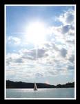 Fin De Journee Sur Le Lac by chrislink