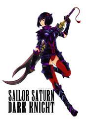 Sailor Saturn - Dark Knight by AkiDead