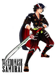 Tuxedo Mask - Samurai by AkiDead