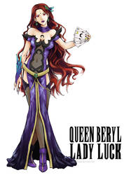Queen Beryl - Lady Luck by AkiDead