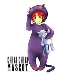 Chibi Chibi - Mascot by AkiDead