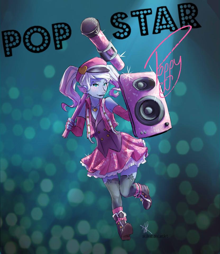 Popstar Poppy by AkiDead