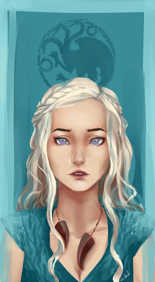 Daenerys by AkiDead