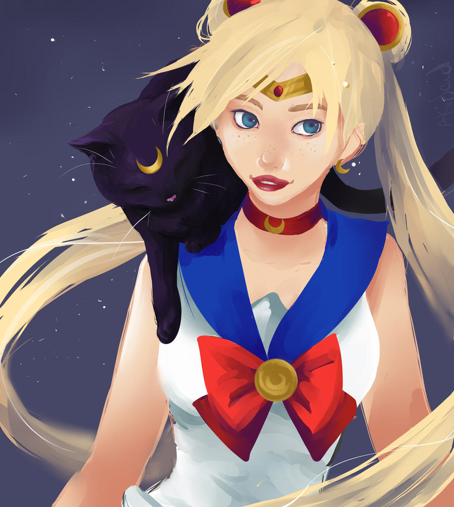 Sailor Moon - Speedpaint by AkiDead