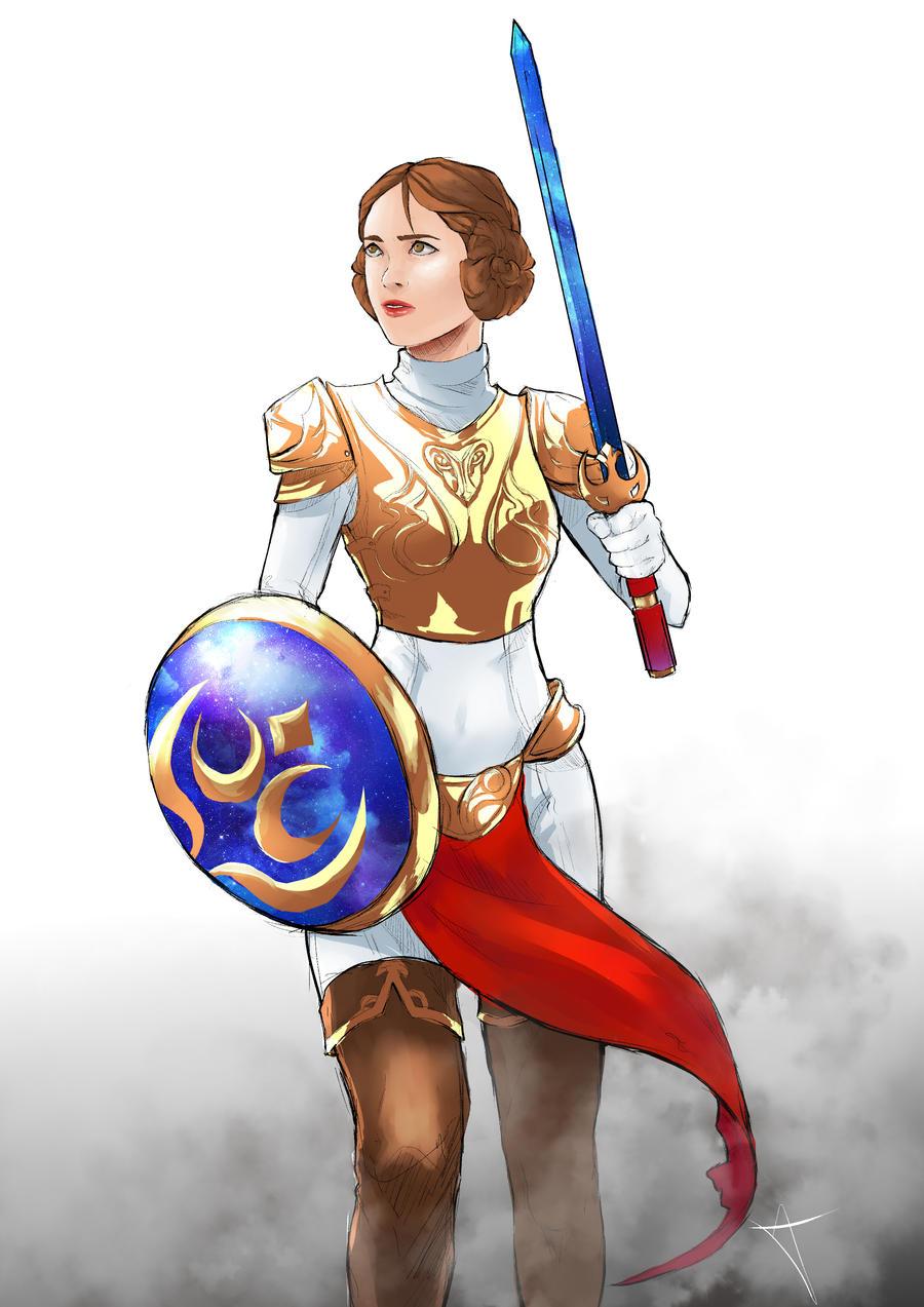 Rebel Princess by AkiDead