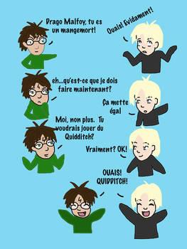 Harry Potter Vs Draco Malfoy 2