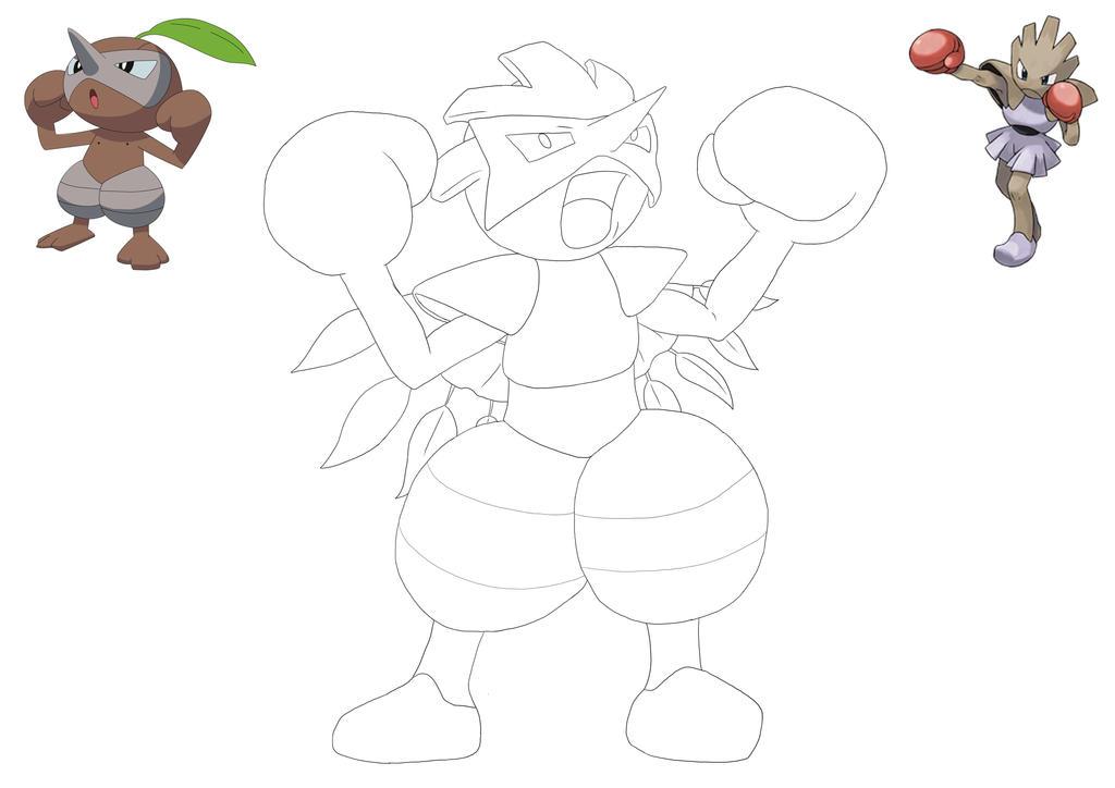 Line Art Dragon : Pokemon fusion line art by neonlunardragon on deviantart
