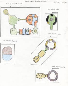 Deku Tree Dungeon Maps