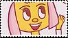 Paula Fox stamp by Mura-san
