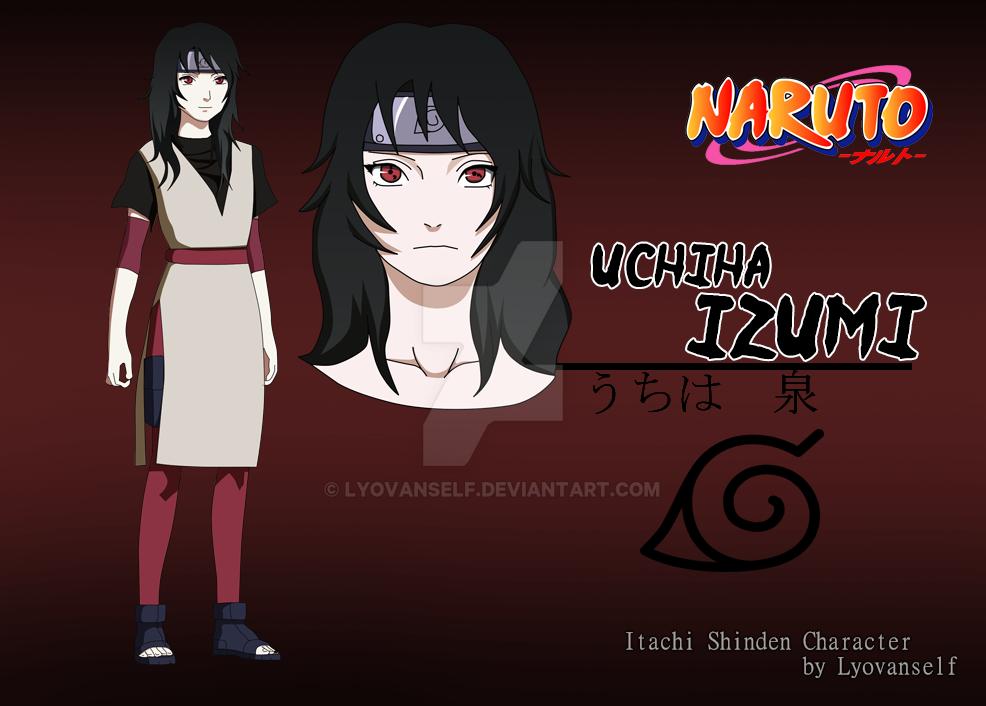 Izumi Uchiha Itachi Shinden Character Oc By Lyovanself