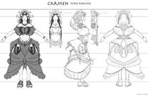 Carmen - turn around by dustsplat