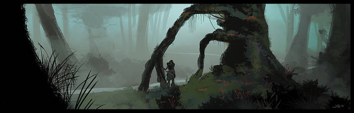 Misty Forest Concept