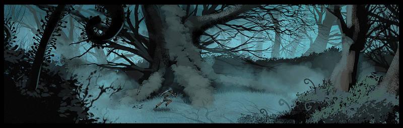 Dense Forest concept