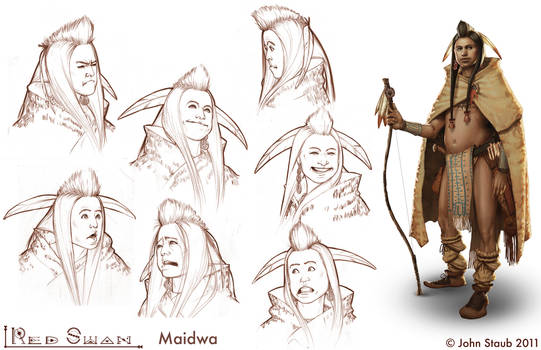 The Red Swan - Maidwa