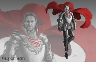 DC Antiquity - Superman by dustsplat