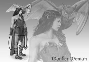 DC Antiquity - Wonder Woman by dustsplat