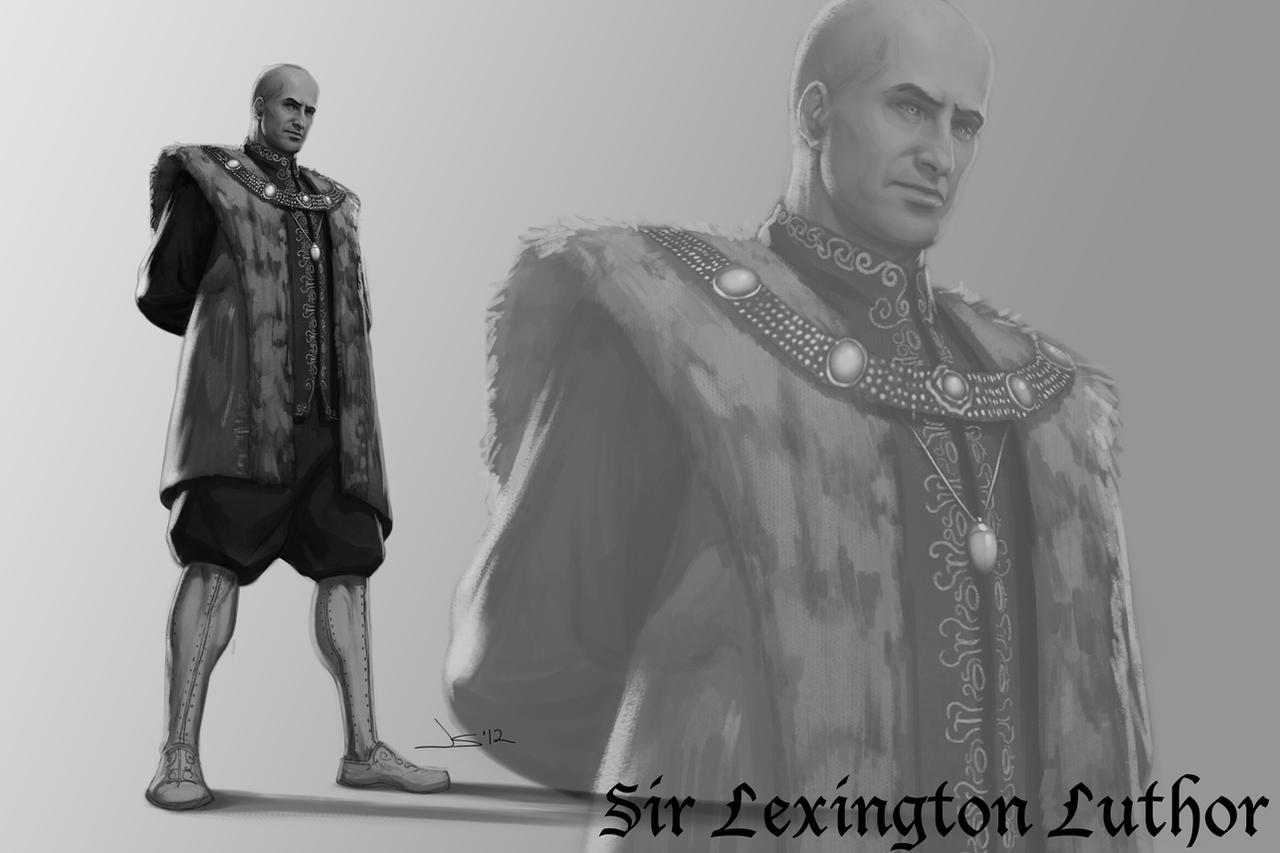 DC Antiquity - Lex Luthor by dustsplat