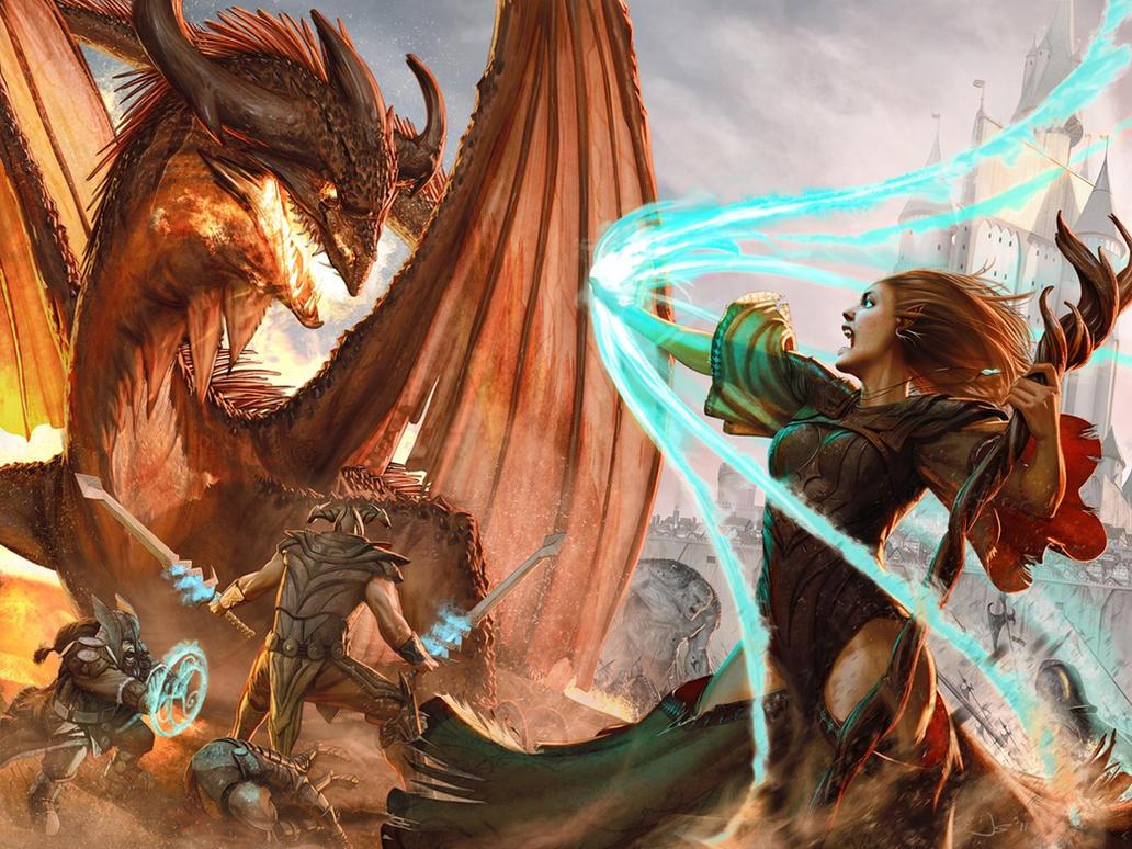 Kingdom Age Illustration by dustsplat