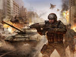 Modern War Illustration v2