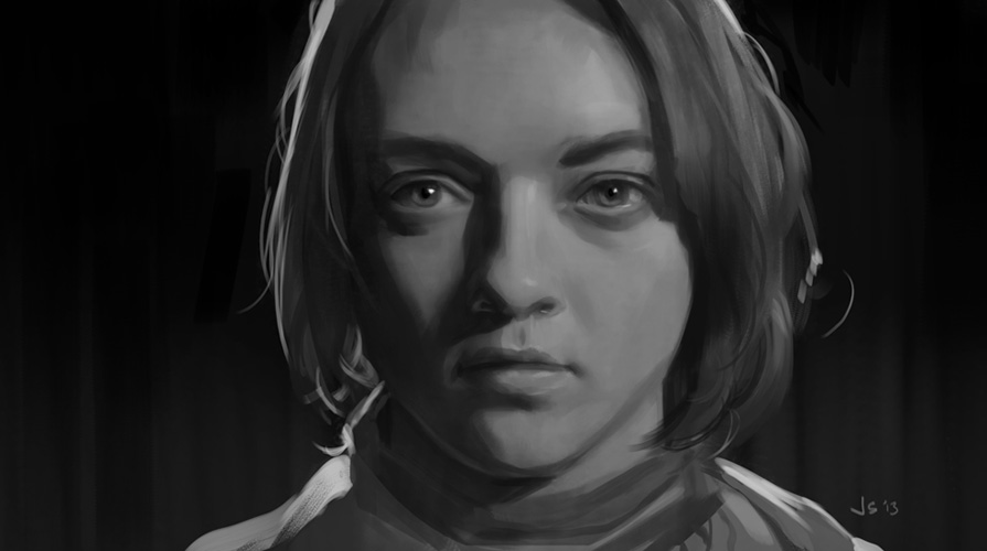 GOT Arya by dustsplat