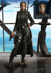 Female Commander concept