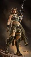 Female Commando character class