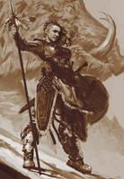 Shield Maiden  by dustsplat
