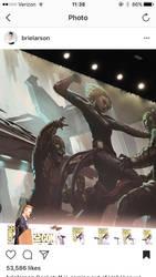 Captain Marvel at comic con!