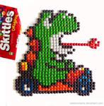 Skittle Yoshi Kart