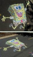 SpongeBob Sidewalk Chalk