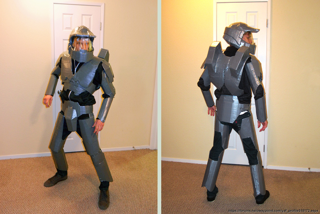 I Am Duct Tape Master Chief (Halo) by mattmcmanis